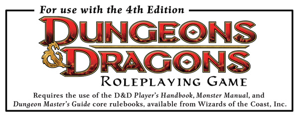 Dungeons &amp; Dragons 4th Edition Logo